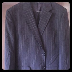Men's John H. Daniel Suit Navy blue/gold